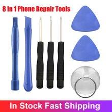 8 в 1 мобильный телефон набор инструментов для ремонта инструмент