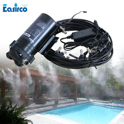 antiseptic mist anti virus disinfection machine Mist maker misting system 20PCS nozzle  Mist cooling system