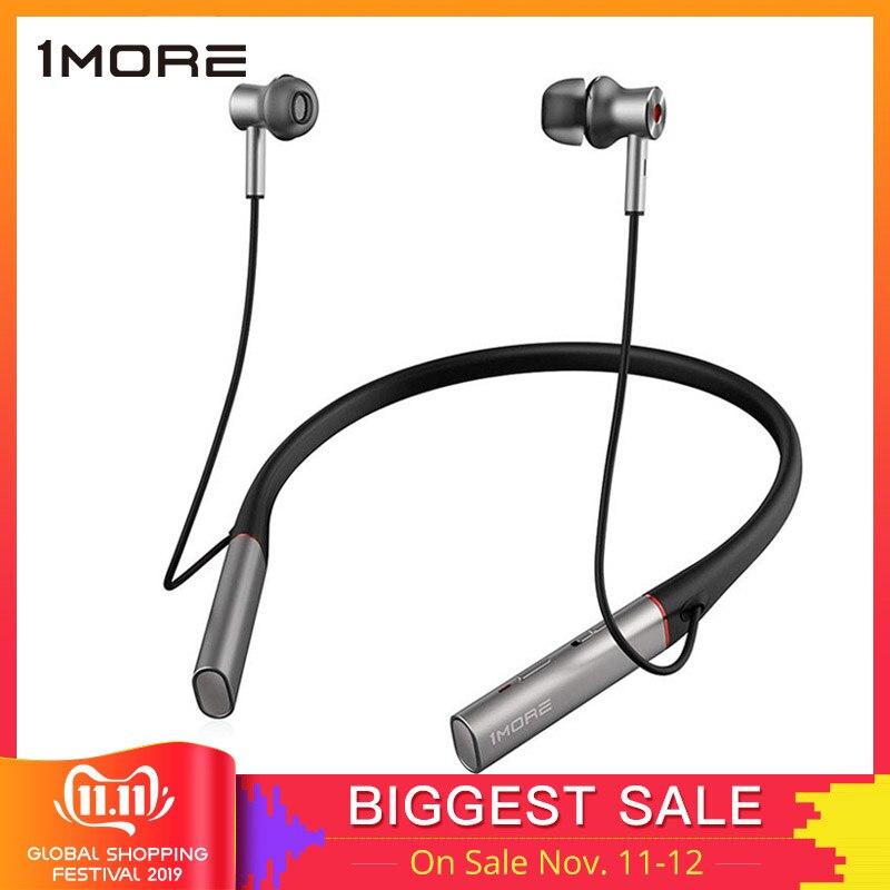 1 mais e1004ba driver duplo bt anc fones de ouvido sem fio fone de ouvido bluetooth com cancelamento de ruído ativo, enc, carregamento rápido