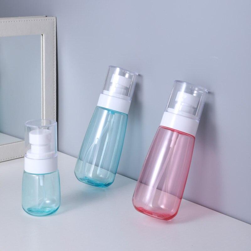Купить с кэшбэком UMETASS Empty Travel Bottle plastic Cosmetic Container 30ML/60ML/80ML/100ML Portable Multipurpose Bottle