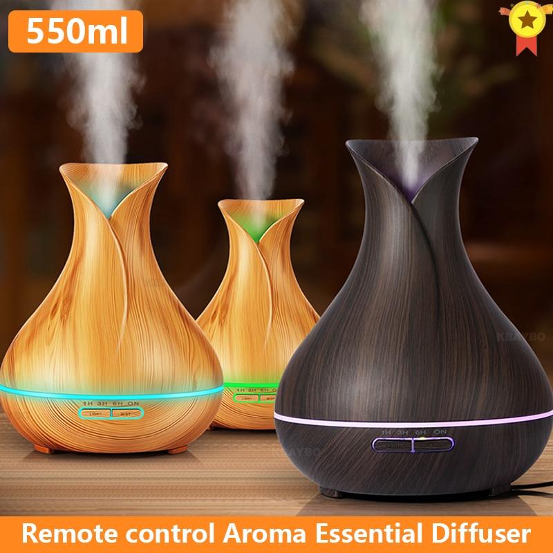 550 мл ультразвуковой мини-увлажнитель воздуха офис арома-диффузор для эфирных масел для дома в машину с USB, туманный распылитель, распылител...