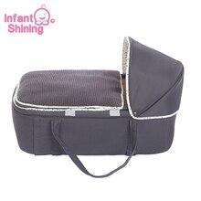 Портативная переносная люлька для детской кроватки, многофункциональная переносная люлька для детской кроватки, удобная безопасная дорожная кровать