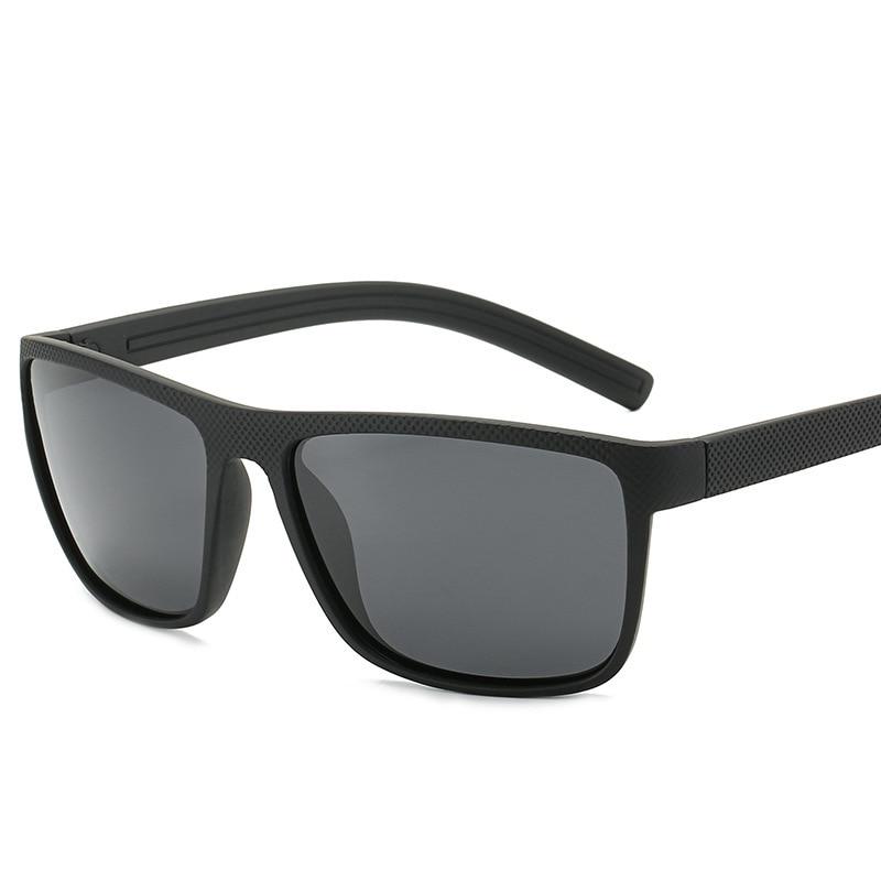 Polarizing Sunglasses Men's Elastic Black Comfortable Driving Fishing Sunglasses Quick-selling Glasses