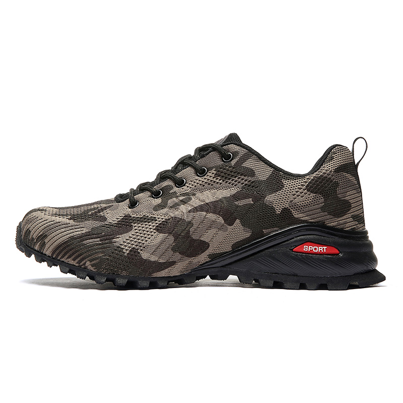 Spring Men Hiking Shoes Men Breathable Outdoor Sneakers Men Non Slip Traveling Men Foot Wear|Hiking Shoes| |  - title=
