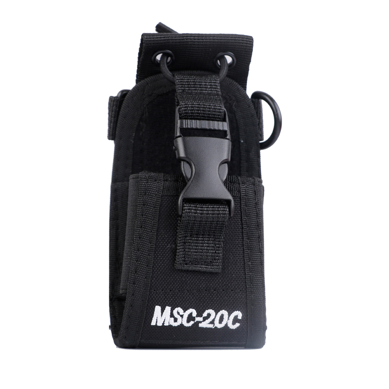 Walkie Talkie MSC-20C Nylon Bag For BaoFeng UV-5R BF-888S UV-82  Carry Case Portable Radio Walkie Talkie Radio Case Holster
