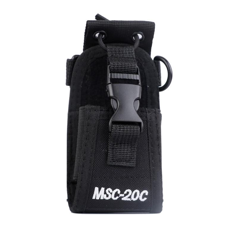 Walkie Talkie MSC-20C Nylon Bag For BaoFeng UV-5R BF-888S UV-82  Carry Case Portable Radio Walkie Talkie Radio Case Holster