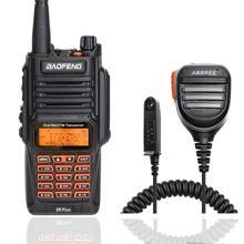 Baofeng UV 9R mais ip67 à prova dip67 água banda dupla 136 174/400 520mhz ham rádio BF UV9R 8w walkie talkie 10km alcance uv 9r mais