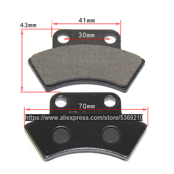 цена на Parking Brake Friction Disc Pads 500cc Engine Repair Cfmoto CF500 X5 ATV 9010-0803A0 CD-F136 UTV 4 x 4 Quad Bike ZCDSP-CF500