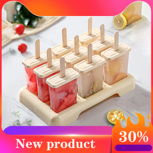 Homemade Summer Ice Cream Mold Ice Cream Mould Popsicle Mold Tray Kitchen box set DIY Accessories