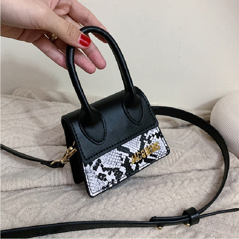 Serpentine Mini Women Handbag Famous Brand Luxury Handbags For Women Crossbody Bags Female 2019 Messenger Bags Small Tote Bag