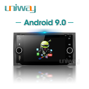 Image 4 - Uniway ALLFKS7071 포드 Mondeo C max 포커스 갤럭시 S max 퓨전 레인저 탈출 원정대 fiesta 용 2G + 32G 안드로이드 9.0 차량용 dvd