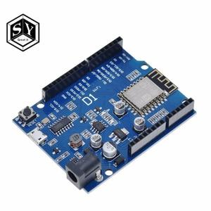 Плата разработки Great IT New WeMos D1 Mini CH340 WiFi ESP8266 ESP-12E WeMos D1 WiFi uno на базе ESP8266 shield D1 UNO, 1 шт.