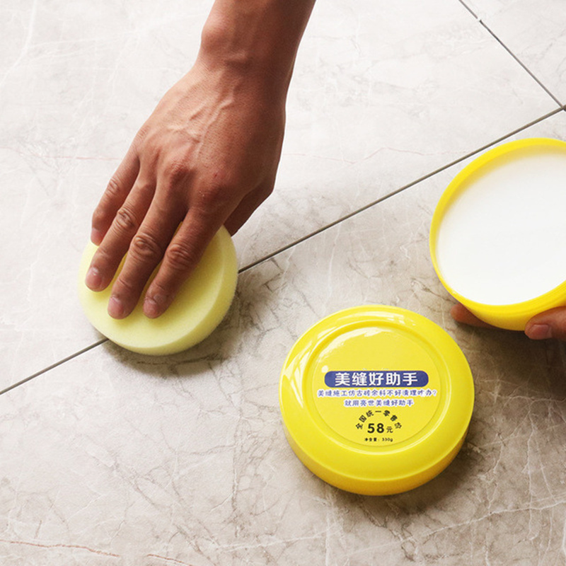 Construction Tool Tile Beauty Seam Wax Cleaning Paste For Tile Gap Cleaning Beauty Seam Manual Grout Pump Flooring Tiles Tool