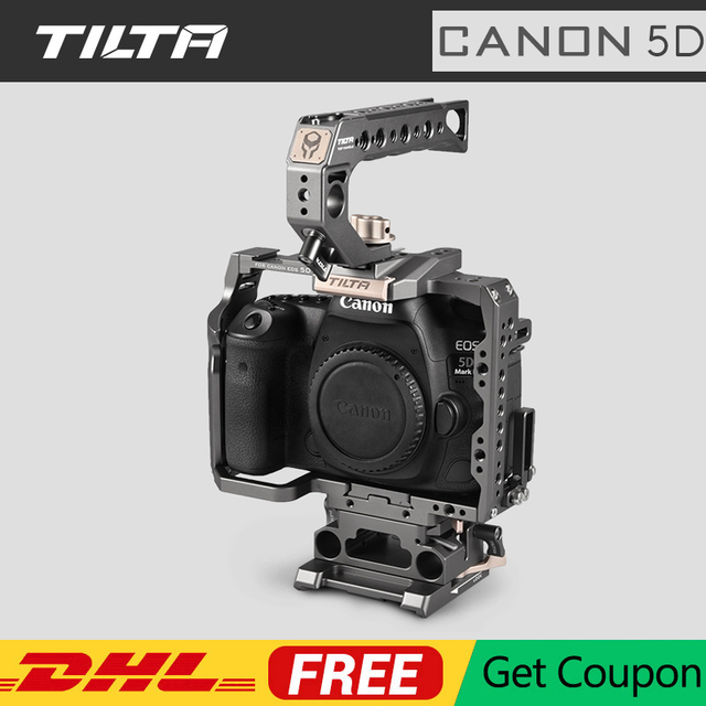 Tilta Cage for Canon 5D Series DSLR Camera 5D Mark II III IV Cage for 5D2 5D3 5D4 Camera Rig Accesosires