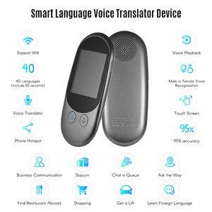 Image 2 - Portable Smart Instant Voice Offline Translator Real Time Multi Languages Mini Translation Tool with Camera Scanning Translator