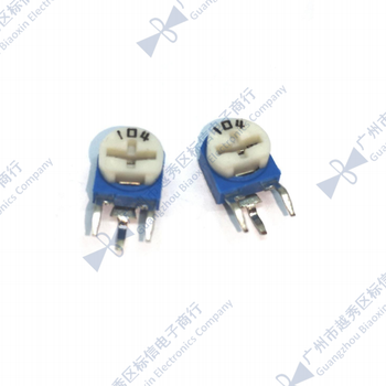 RM063 WH06-1A 100K 500K 1M 2M ohm vertical Adjustable Trimpot Resistor potentiometer(Only accept min order 500PCS) image