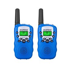 2Pcs BaoFeng Mini Walkie Talkie Outdoor Kids Interphones Portable Adventure Radio Transceiver Lightweight Handheld