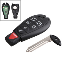 433Hz 7 Buttons Replacement Remote Car Key Fob Transmitter Clicker Alarm for Dodge M3N5WY783X IYZ-C01C 315mhz 4 buttons replacement remote car key fob transmitter clicker alarm with key kr55wk48903 kr55wk49622 for nissan 2007 2016