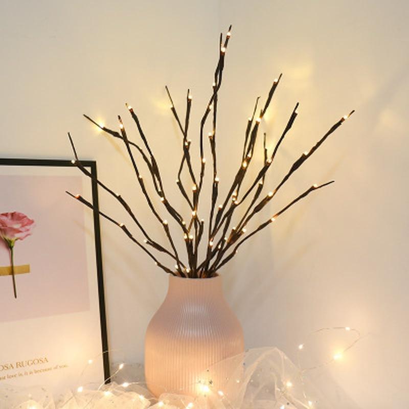 Explosion Models LED Simulation Tree Branches Landscape Vase Room Decoration Lanterns Creative Bedroom Restaurant Layout Lights