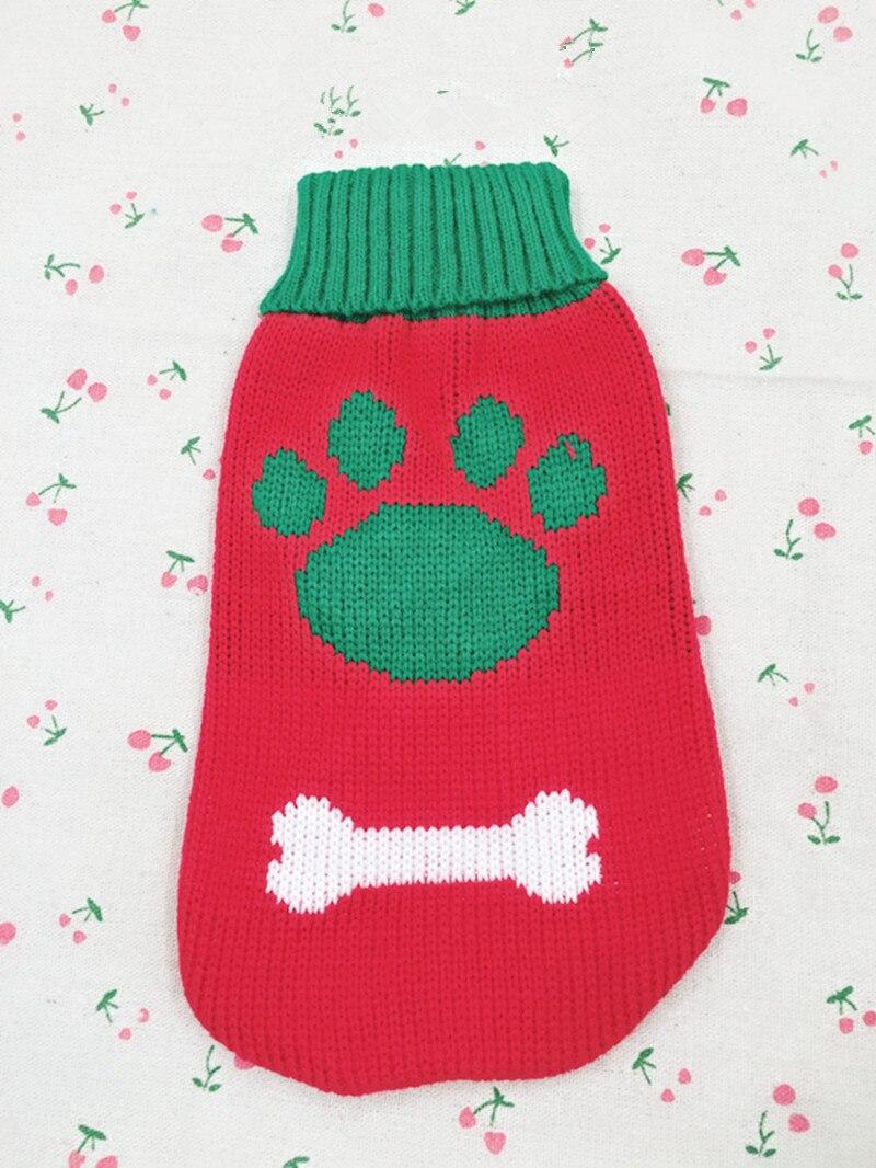 Свитер для кошек, собак, чашек, пуделей, собачек, щенков, костюм, чихуахуа, Йоркская одежда, одежда для маленьких собак, одежда для домашних животных, одежда для собак, пальто - Цвет: Red  2