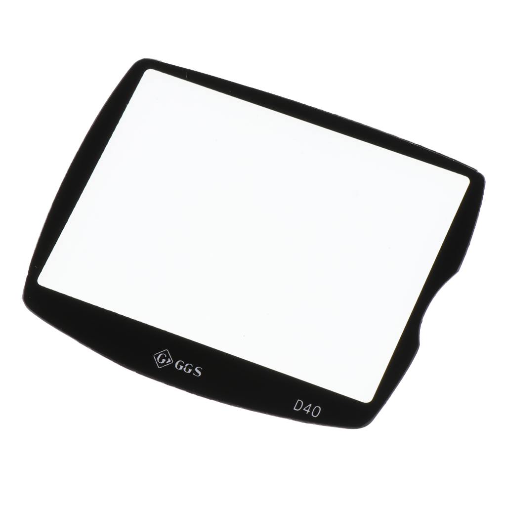 Anti scratch DSLR Optical Glass LCD Screen Tempered Glass Protector cover For Nikon D40 D40x D60 DSLR Screen Protective in Screen Protectors from Consumer Electronics