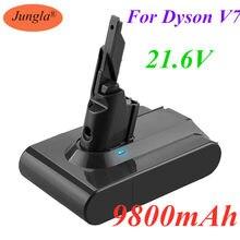 Dyson 9800mah 21.6v 9.8ah li-lon bateria recarregável para dyson v7 bateria animal pro aspirador de pó substituição