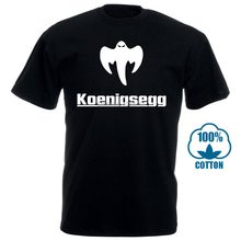 New Popular Koenigsegg Ghost Men'S Black T Shirt S 3Xl Casual T Shirt Male Short Sleeve Pattern 011131(China)