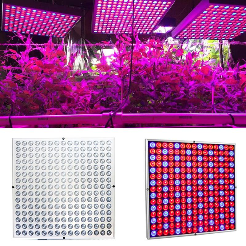 Grow Light Panel Plants Growth Light Plant Lamp Led Grow Light Flower Vegetables Full Spectrum Indoor Hydroponic Energy Saving