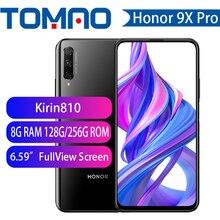 Смартфон Honor 9X Honor 9X Pro, аккумулятор 4000 мАч, 7 нм, Kirin 810, 48 МП, автоматическая всплывающая камера, поддержка Google Play