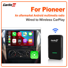 Carlinkit 2.0 Auto Wireless Carplay Adapter for Pionner Kenwood Alpine Harman Sony Modified Android Radio with Wired CarPlay IOS