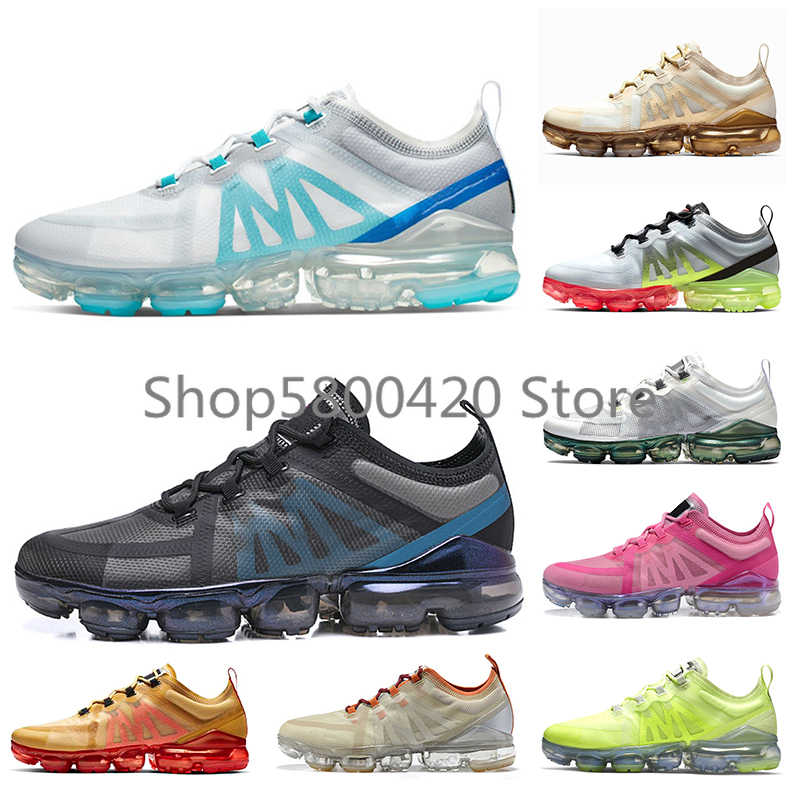 Permanent love unrelated  High Quality Vapormax 2019 Womens Mens Running Shoes White University Gold  Wolf Grey Laser Black Blue Gold Tennis Trainers| | - AliExpress