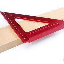 150MM aluminum alloy triangle ruler woodworking square aids measuring tools