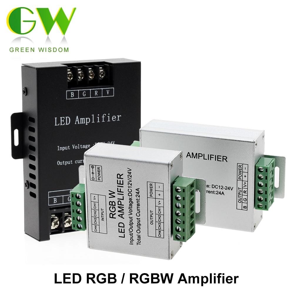 LED Signal Amplifier for our 12V 5050 RGB Cabinet Lights