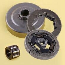 LETAOSK цепи муфта зубчатого колеса барабана и игольчатый роликоподшипник Подшипник комплект подходит для Stihl 044 046 MS440 MS460 аксессуары для бензо...