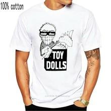 Toy Dolls Idle Gossip 1986 T-Shirt - Punk, Oi! Punk, Street Punk Men Tops Tees 2017 Summer Fashion New Men O-Neck T Shirt