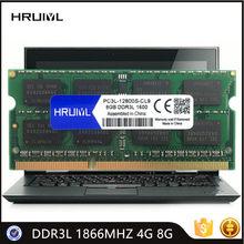 Hruiyl Notebook Geheugen DDR3L 1866Mhz 4Gb 8G 1.35V 204Pin Sdram Hoge Prestaties Notebook Moederbord Nieuwe Originele chips