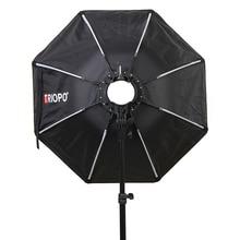 TRIOPO KX65 65 سنتيمتر مظلة سوفتبوكس المحمولة في الهواء الطلق المثمن ل yongnuo YN200 Godox AD200 V1C/S/N/O/F فلاش Speedlite لينة صندوق