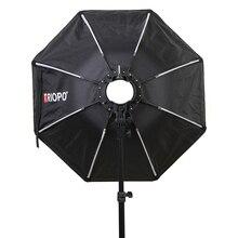 TRIOPO KX65 65Cm Dù Softbox Di Động Ngoài Trời Bát Giác Cho Yongnuo YN200 Godox AD200 V1C/S/N/O/F Đèn Flash Hộp Mềm