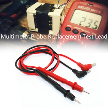 Junejour Multimeter Probe Universal Probe Test Pin for Digital Meter Needle Tip Multi Meter Tester Lead Probe Wire Pen Cable