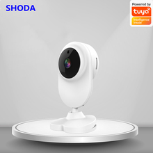 SHODA Home Camera 1080P HD AI Based Smart Home Camera Security Wireless IP Cam Night Vision Office EU Version with Tuya App