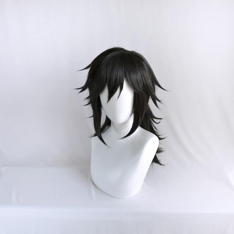 Demon Slayer Tomioka Giyuu Cosplay Wig