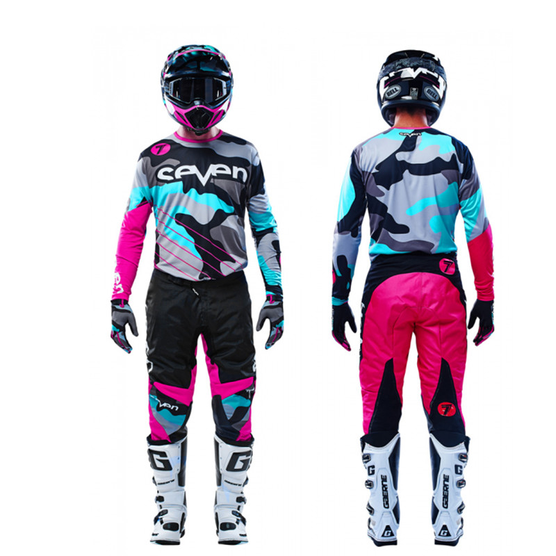 New Pink Seven MX Annex Motocross Gear Set Top Dirt Bike Suit MX Jersey And Pant