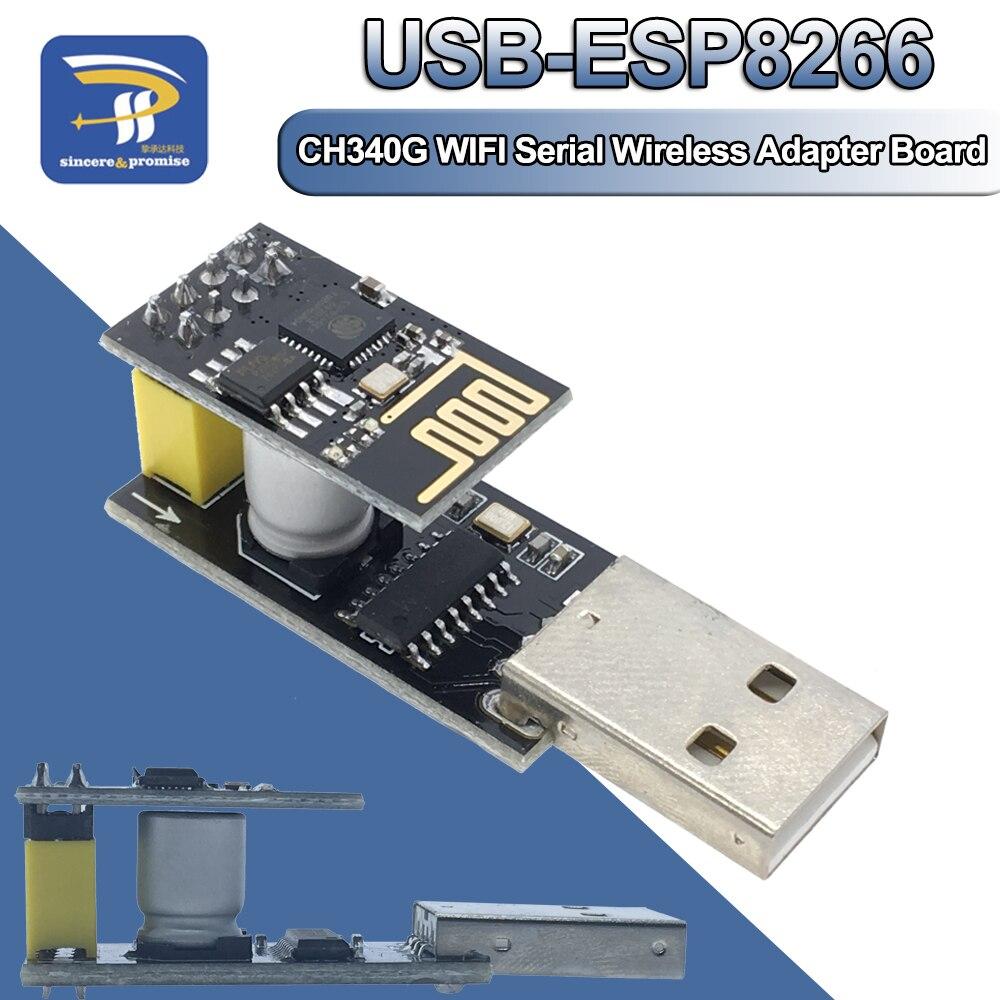 Adaptador de programador esp01 uart ESP-01S adaptater ch340g usb para esp8266 serial sem fio wifi módulo placa desenvolvimento