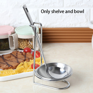With Bowl Storage Organizer Stainless Steel Spoon Holder Decorations Cutlery Support Stands Home Practical Kitchen Gift(China)