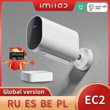 IMILAB-cámara de seguridad inalámbrica EC2 para el hogar, 1080P, HD, cámara Wifi para exteriores, IP66, CCTV, cámara de vídeo de vigilancia