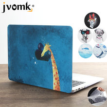 New Print Animal Laptop Case For MacBook Air Pro Retina 11 12 13 15 inch with Touch Bar + Keyboard Cover(China)
