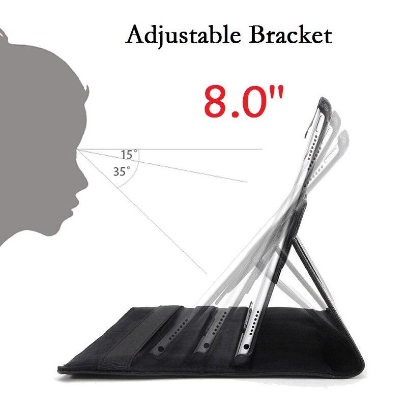8,0 ''чехол для Samsung Galaxy Tab A 8,0, SM-T290, T295, T297, чехол с поворотом на 360 градусов, умный PU чехол для Samsung Tab A 8,0, T290-4