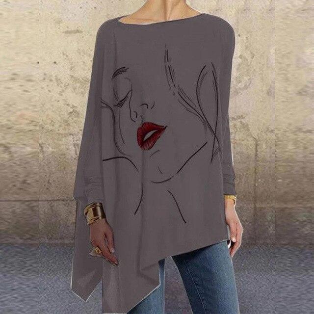 Vintage Woman Autumn Blouse 4