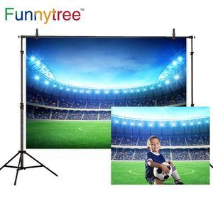 Image 2 - Funnytree רקע צילום סטודיו בני כדורגל שדה כדורגל משחק ריאל מדריד CF מסיבת תמונה רקע שיחת וידאו Photozone