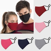 Homem mulher reutilizável boca máscara protetora respirável boca boné lavável máscara facial capa boca tecido de algodão por metro mascarillas
